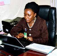 Mrs, Agho Glory, EDID Programme Manager,