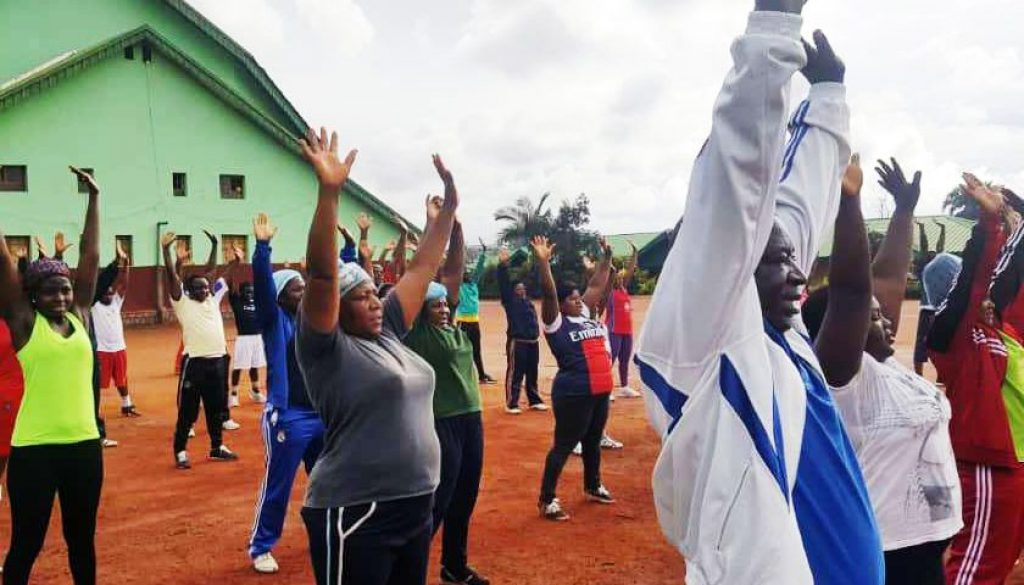CBC Health Services' Central Administration battles NCDs through physical activities