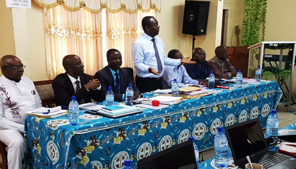 Prof. Tih Pius Mufih (DHS) chalenged CBC Health Services' Leaders to Ensure Sustainability
