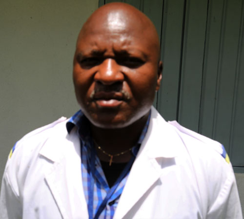 Chief of centre Mr. Kilie Gamaliet Ngong Advanced Practice Nurse Assistance and LAP filed supervisor1