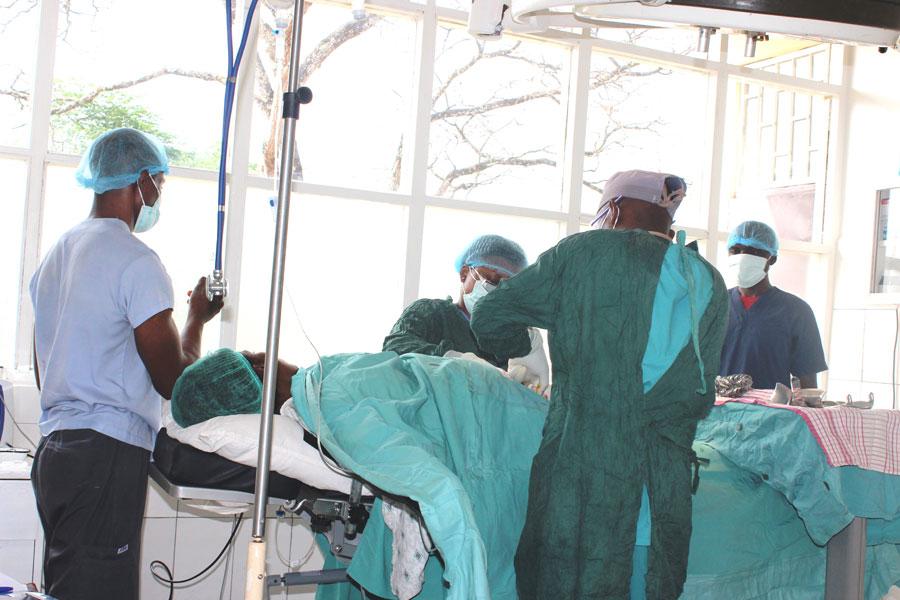Ngonsou Baptist HC Surgical Ward,