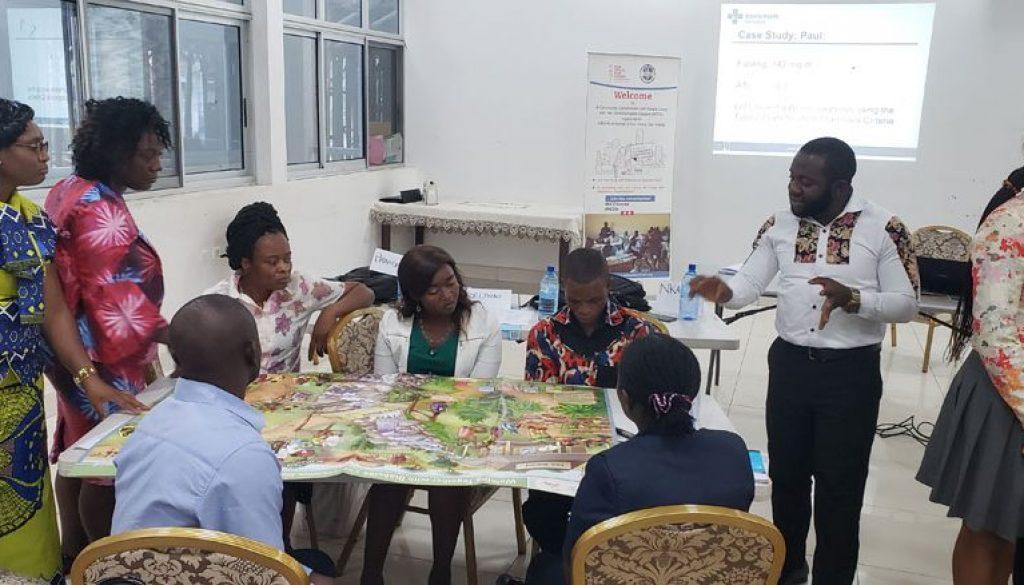 Participants review Diabetes Educative charts
