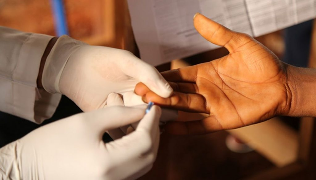 It takes only a Prick for you to know your HIV Status