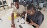 Marketing Officer drilling Amel on marketing skills