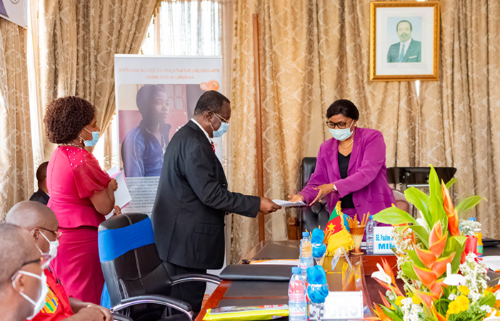 Cameroon Ministry of Social Affairs Signs MoU with CBC Health Services