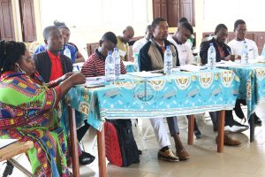 Ntchachwe Delphine (Female) hopes that the workshop will bring inclusion in the school