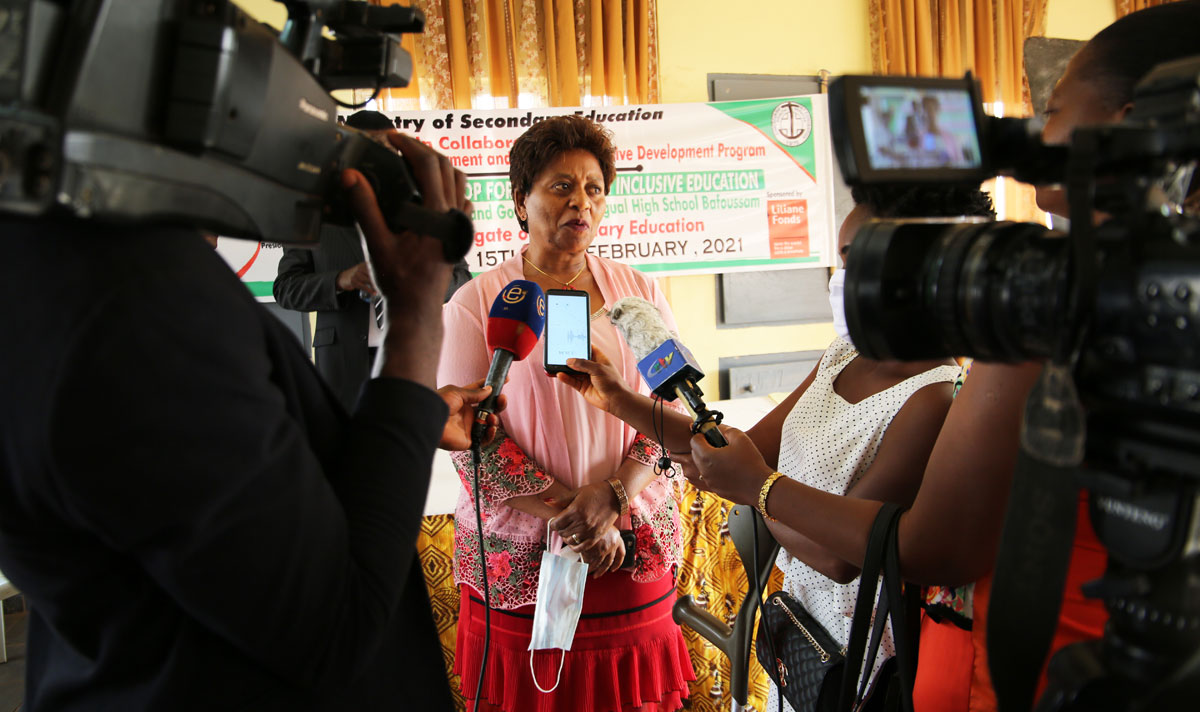 The Media plays a great role in Inclusive Education Advocacy