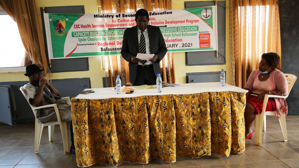 The Regional Delegate urges teachers to make good use of the training opportunity