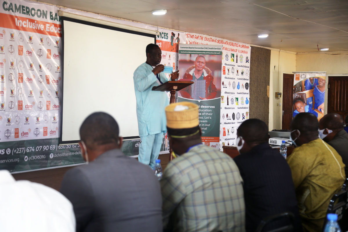 Prof.-Tih-Pius,-Director-of-Health-Services-appeals-on-inclusive-education-stakeholders-to-work-in-synergy