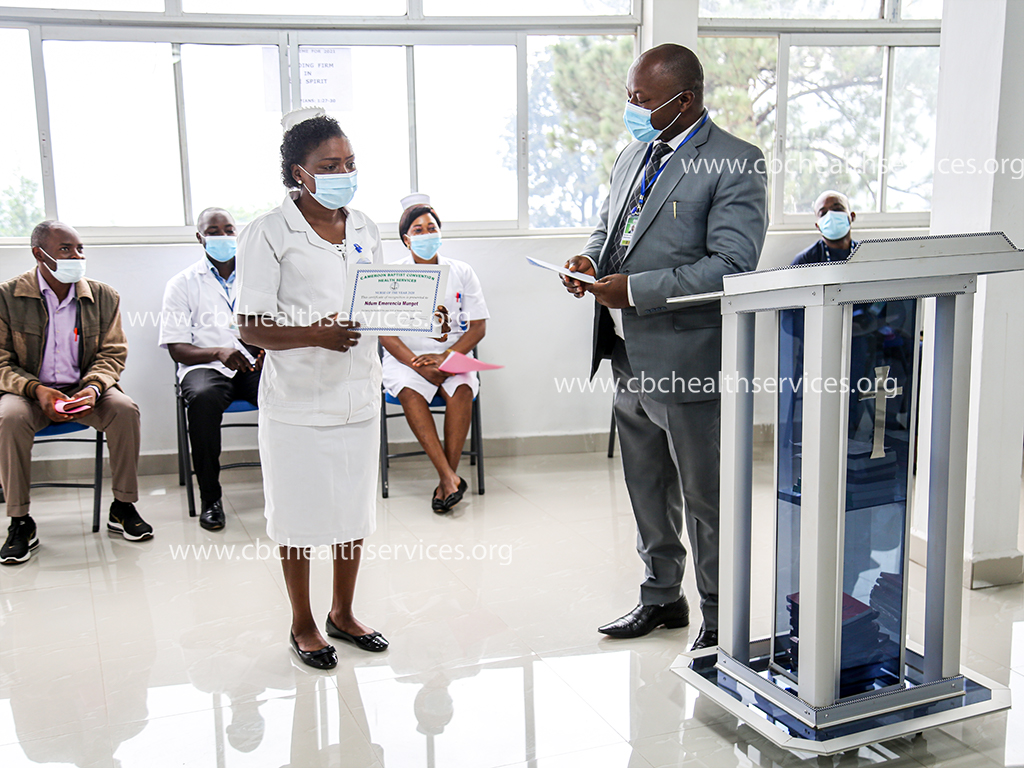 he Personnel Manager appreciates uses the Nurse of the Year to congratulate all the nurses who work as a team