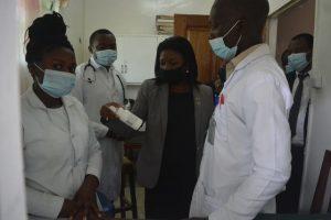 BHM Drug dispensation unit at Care and Treatment Centre