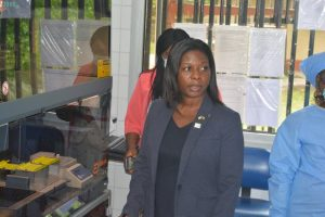 CDC Director listening to complains on ABBOTT Machine