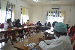Meeting with team at Limbe Regional Hospital (3)