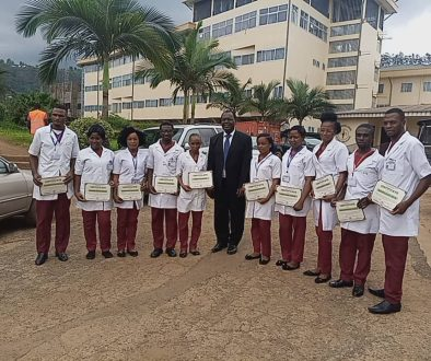 Physiotherapy assistants and the Director of CBC Health Services