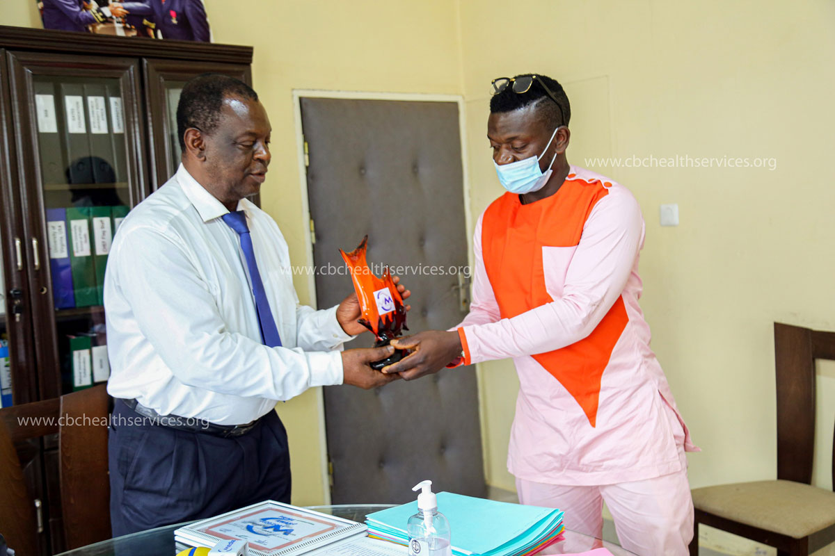 Prof. Tih crowned 'Most Peaceful' Health Service Director for brnging health care closer to the populace