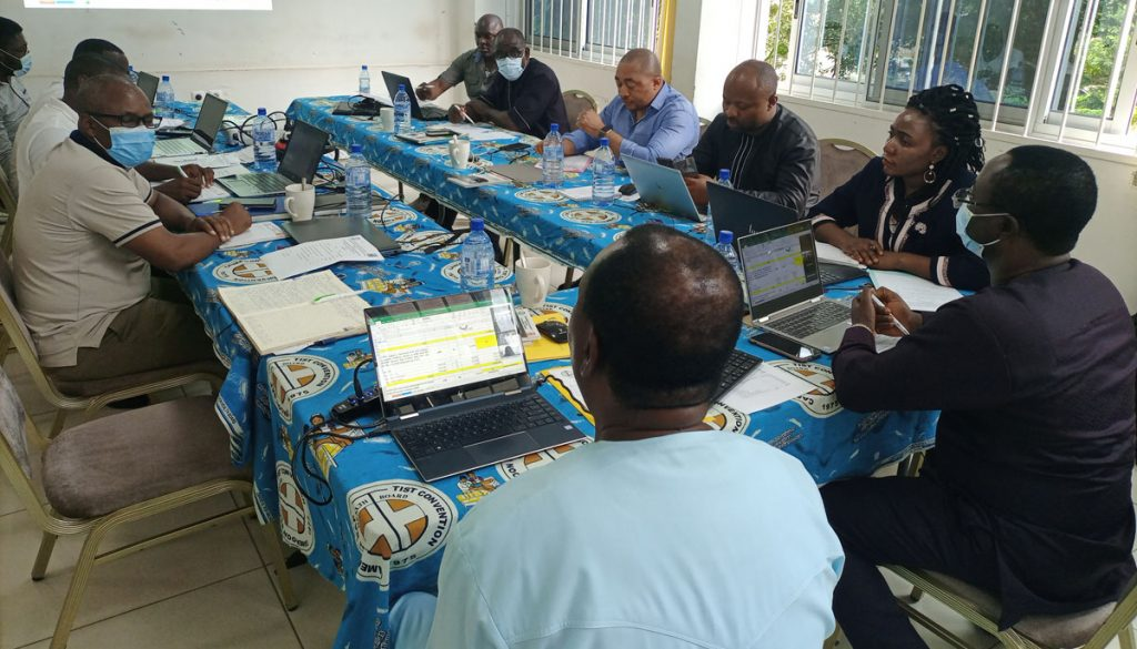 Brainstorming session during scholarship committee meeting