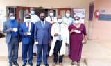 CBC led team in Bamenda after taking COVID-19 vaccine